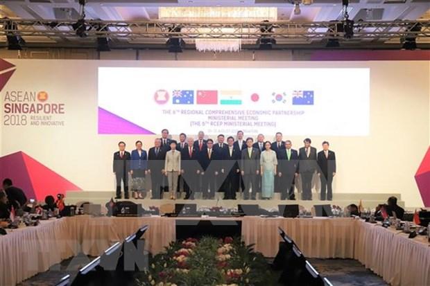 Posponen conclusion de acuerdo promovido por China de Asociacion Economica Regional hinh anh 1