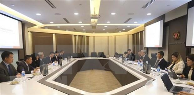 Vietnam y Singapur intensifican vinculos en defensa hinh anh 1