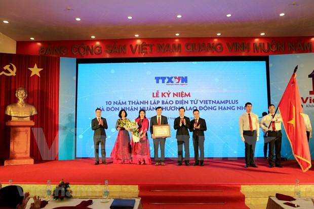 VNA se confirma como entidad informativa estrategica de Vietnam, sostiene dirigente partidista hinh anh 1