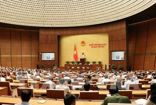 Parlamento vietnamita aprueba resolucion sobre la distribucion del presupuesto hinh anh 1
