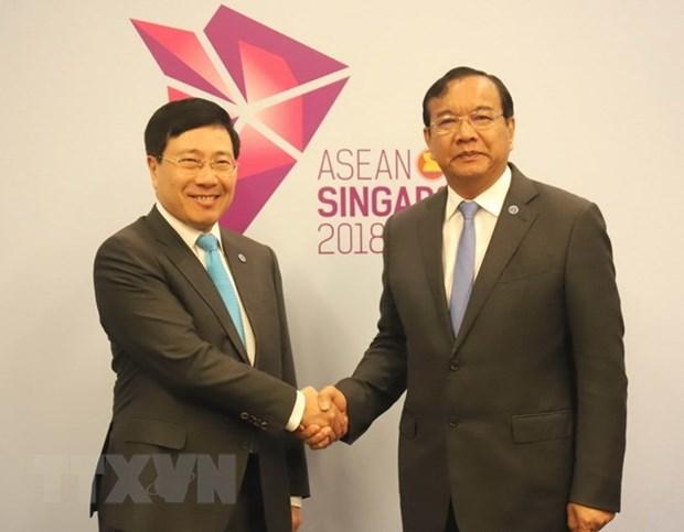 Camboya se compromete a apoyar a camboyanos- vietnamitas residentes sobre lago Tonle Sap hinh anh 1