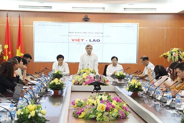 Promoveran relacion especial Vietnam-Laos mediante festival amistoso hinh anh 1