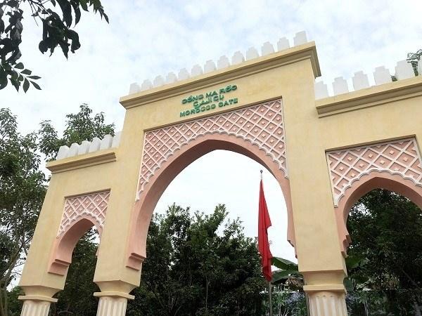 Renovada Puerta de Marruecos, simbolo de la amisad entre ese pais y Vietnam hinh anh 1