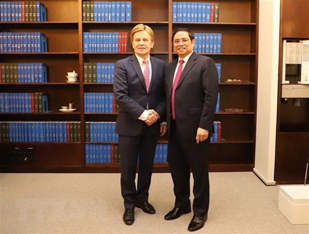 Vietnam y Finlandia fortalecen cooperacion en multiples sectores hinh anh 1