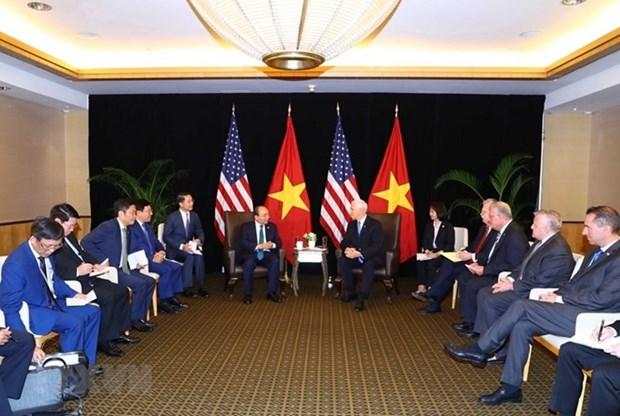 Vietnam considera a Estados Unidos como un socio importante, afirma Premier hinh anh 1