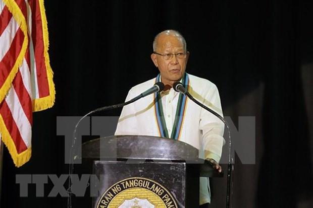Dirigentes filipinos critican acciones de China en Mar del Este hinh anh 1