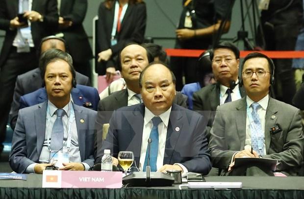 Vietnam reafirma apoyo al establecimiento de asociacion estrategica ASEAN-Rusia hinh anh 1