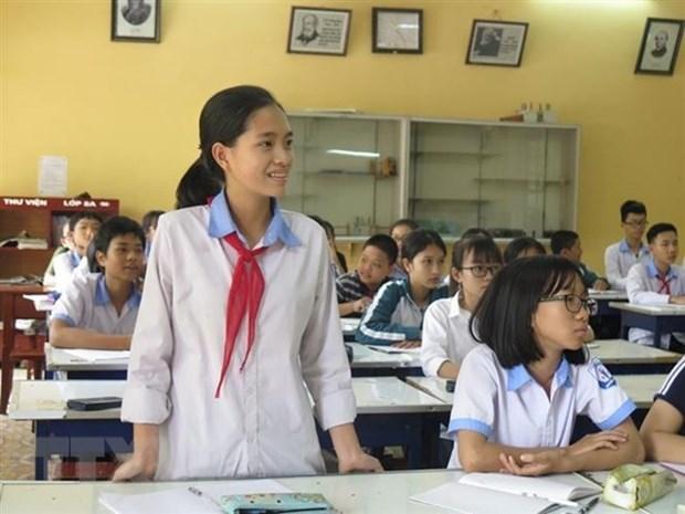 Lanzan en provincia vietnamita concurso de escritura de la Union Postal Universal hinh anh 1
