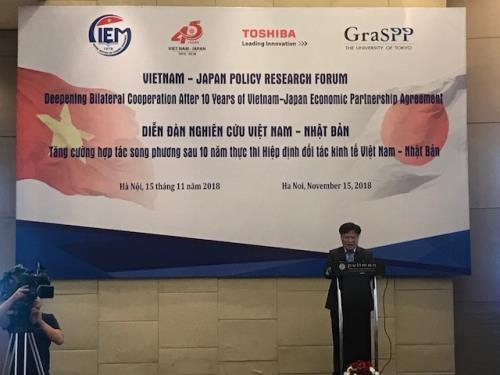 Buscan fortalecer cooperacion economica entre Vietnam y Japon hinh anh 1