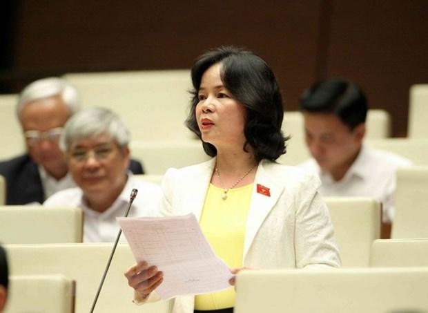 Asamblea Nacional de Vietnam revisa proyectos de leyes de Educacion y Gestion Tributaria hinh anh 1