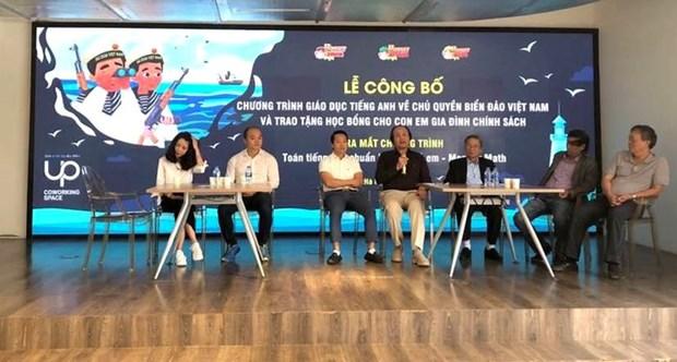 Ninos vietnamitas estudian soberania maritima nacional a traves de programa educativo de ingles hinh anh 1