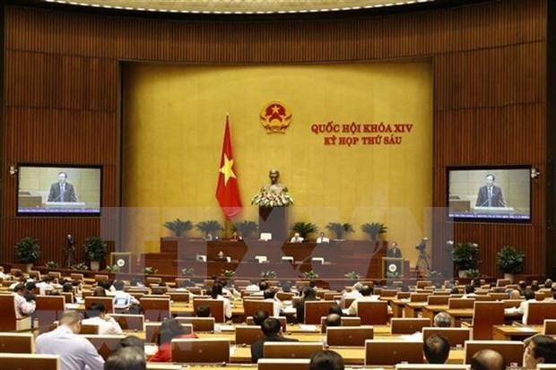 Parlamento de Vietnam analiza proyectos de leyes de Educacion y Gestion Tributaria hinh anh 1