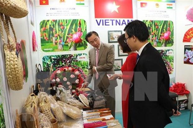 Vietnam participa en la mayor feria de consumo de la India hinh anh 1
