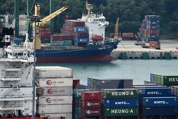 Singapur se compromete a impulsar nexos China-ASEAN hinh anh 1