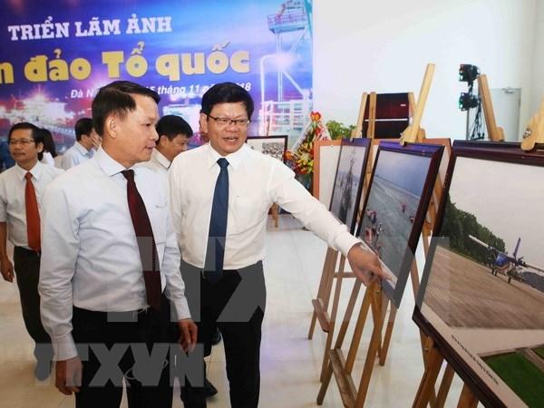 Exponen fotos de agencia vietnamita de noticias sobre soberania maritima del pais hinh anh 1