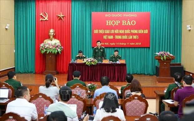 Celebraran nuevo intercambio amistoso de defensa fronteriza Vietnam- China hinh anh 1