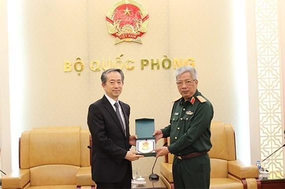Cooperacion en defensa, uno de los pilares importantes de relaciones Vietnam-China hinh anh 1