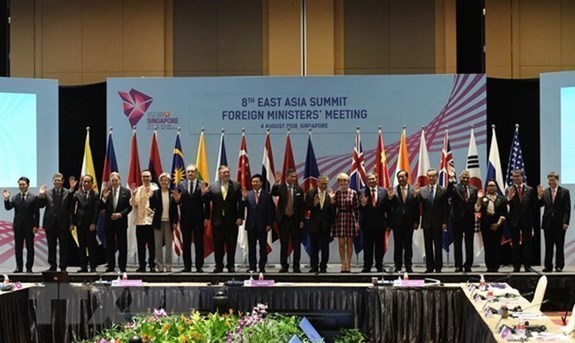 Japon, Australia, EE.UU e India promueven colaboracion en Indo-Pacifico hinh anh 1