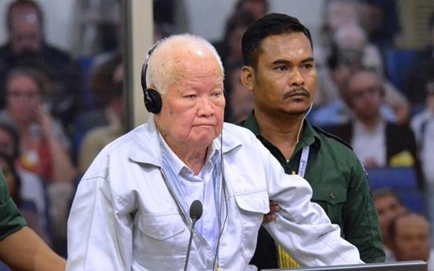 Camboya condena a cadena perpetua a lideres de Khmers Rojos por genocidio hinh anh 1