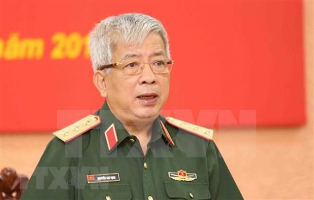 Resaltan significado del Intercambio amistoso de defensa fronteriza Vietnam- China hinh anh 1