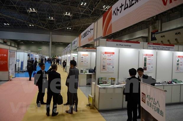 Evaluan altamente industria auxiliar vietnamita en exposicion internacional en Tokio hinh anh 1