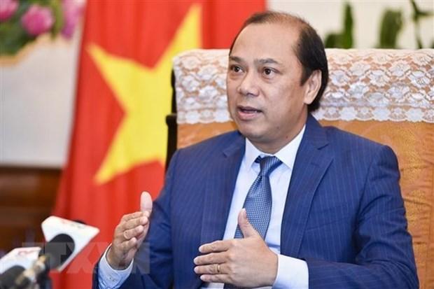 Destacan exitos de la 33 Cumbre de ASEAN y citas conexas hinh anh 1