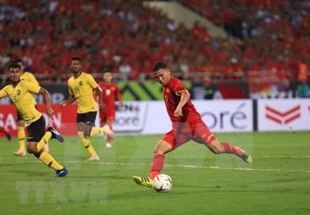 Futbol: Amplio eco de prensa internacional de victoria aplastante de Vietnam sobre Malasia hinh anh 1