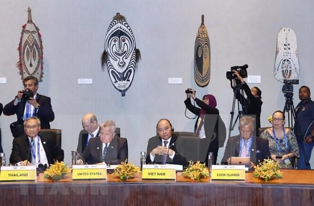 Premier de Vietnam inicia actividades en Cumbre de APEC hinh anh 1