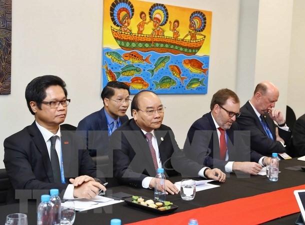 Vietnam dispuesto a escuchar aspiraciones de inversores estadounidenses, sostiene Premier hinh anh 1