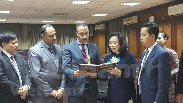 Hanoi estudia reforzar lazos con Egipto en gestion de antiguedades hinh anh 1