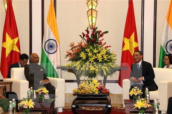 Presidente de la India visita ciudad vietnamita de Da Nang hinh anh 1