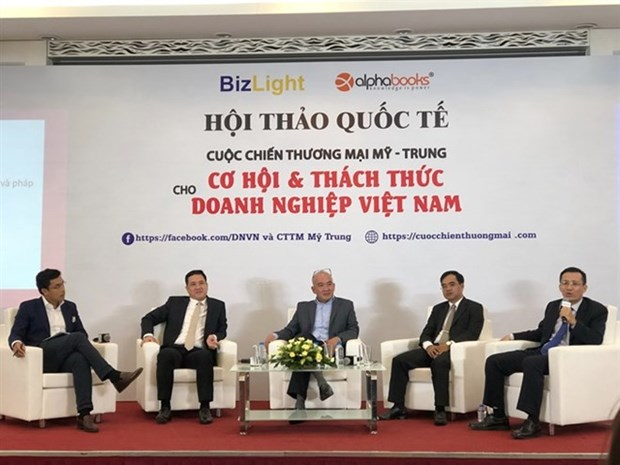 Seminario sobre el control de importacion y exportacion para proteger a Vietnam ante guerra comercial EE.UU. - China hinh anh 1