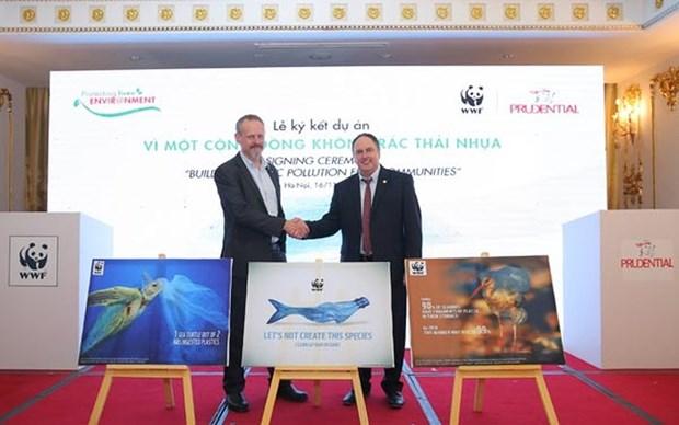 Prudential Vietnam y organizacion mundial entablan lazos para reducir desechos plasticos hinh anh 1