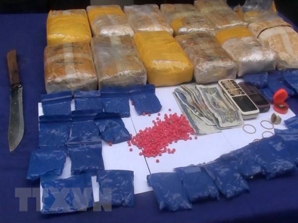 Vietnam y Laos neutralizan una red de narcotrafico transfronterizo hinh anh 1