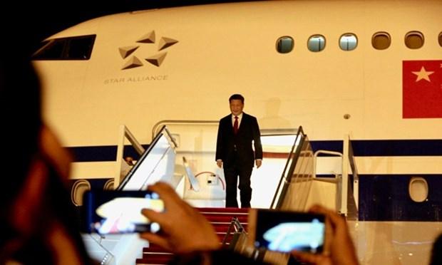 China y Brunei elevan nexos a nivel de asociacion de cooperacion estrategica hinh anh 1