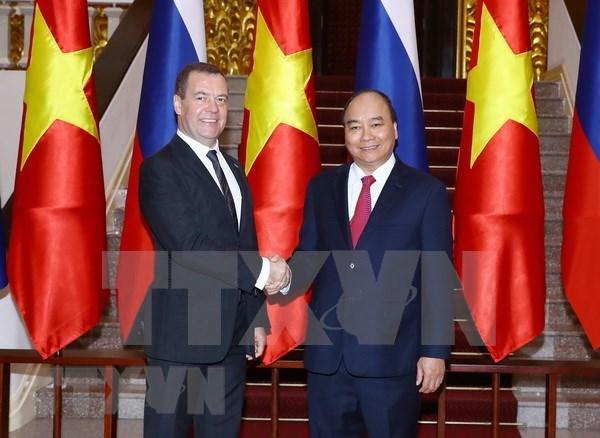 Vietnam y Rusia se empenan en robustecer su asociacion estrategica integral hinh anh 1