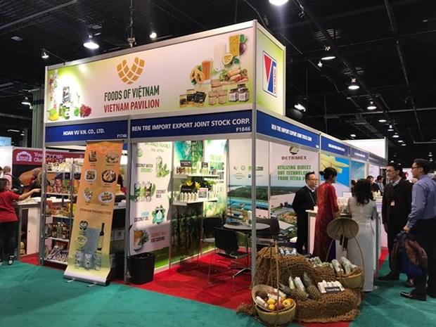 Firmas vietnamitas firman contratos para exportar productos a Estados Unidos hinh anh 1
