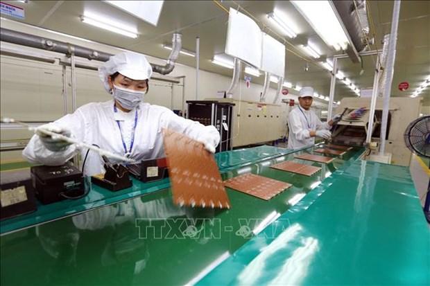 Reporta alto crecimiento industria electronica en Ciudad Ho Chi Minh hinh anh 1