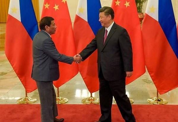 Presidente chino realiza visita oficial a Filipinas hinh anh 1