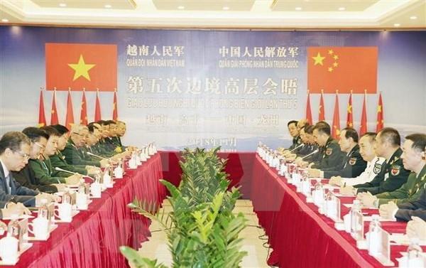 Vietnam y China abogan por fomentar cooperacion en defensa hinh anh 1