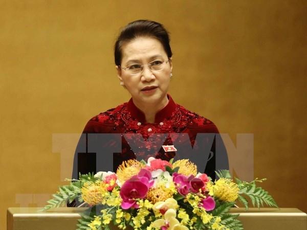 Concluye sexto periodo de sesiones del Parlamento de Vietnam con aprobacion de temas cruciales hinh anh 1