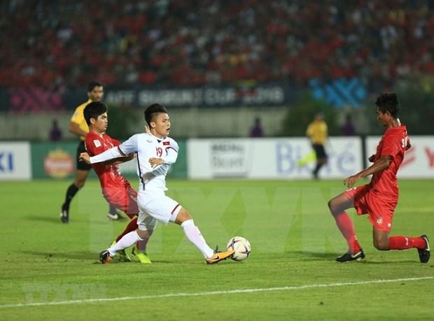 Vietnam y Myanmar empaten sin goles en campeonato sudesteasiatico de futbol hinh anh 1
