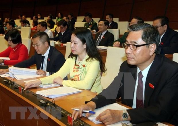 Asamblea Nacional de Vietnam cumple agenda trazada durante sexto periodo de sesiones hinh anh 1