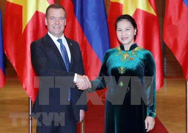 Asamblea Nacional de Vietnam se compromete a apoyar lazos con Rusia hinh anh 1