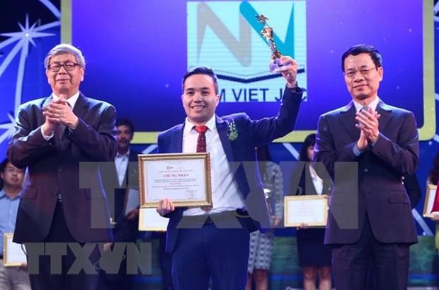Premio honra innovaciones digitales de Vietnam en 2018 hinh anh 1
