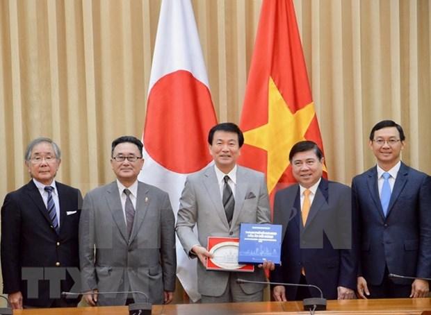 Intensifican relaciones Ciudad Ho Chi Minh y prefectura japonesa de Chiba hinh anh 1