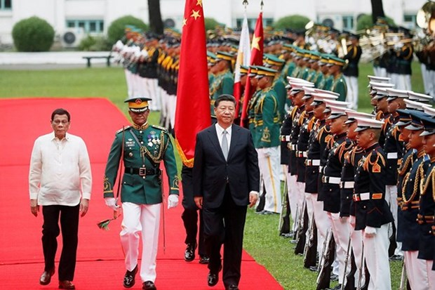 China y Filipinas estableceran asociacion estrategica integral hinh anh 1