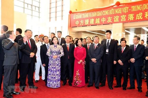 Palacio de Amistad Vietnam-China, simbolo de solidaridad binacional hinh anh 1