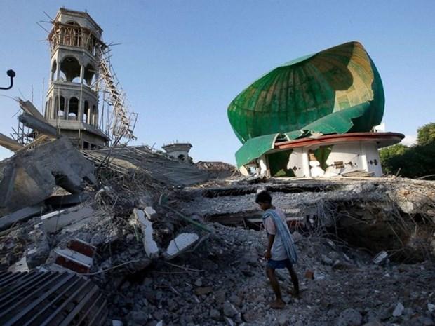 Credito de ADB para mitigar secuelas de terremotos en Indonesia hinh anh 1