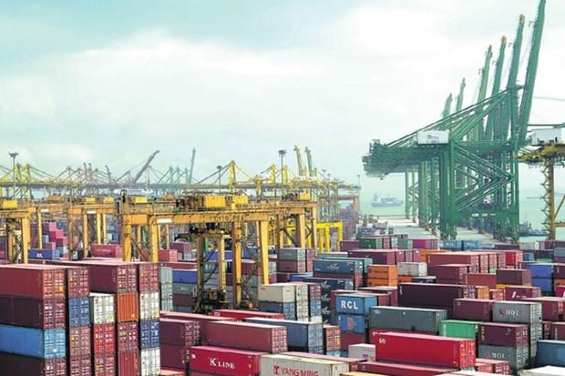 Valor de exportaciones de Singapur supera la prevision hinh anh 1
